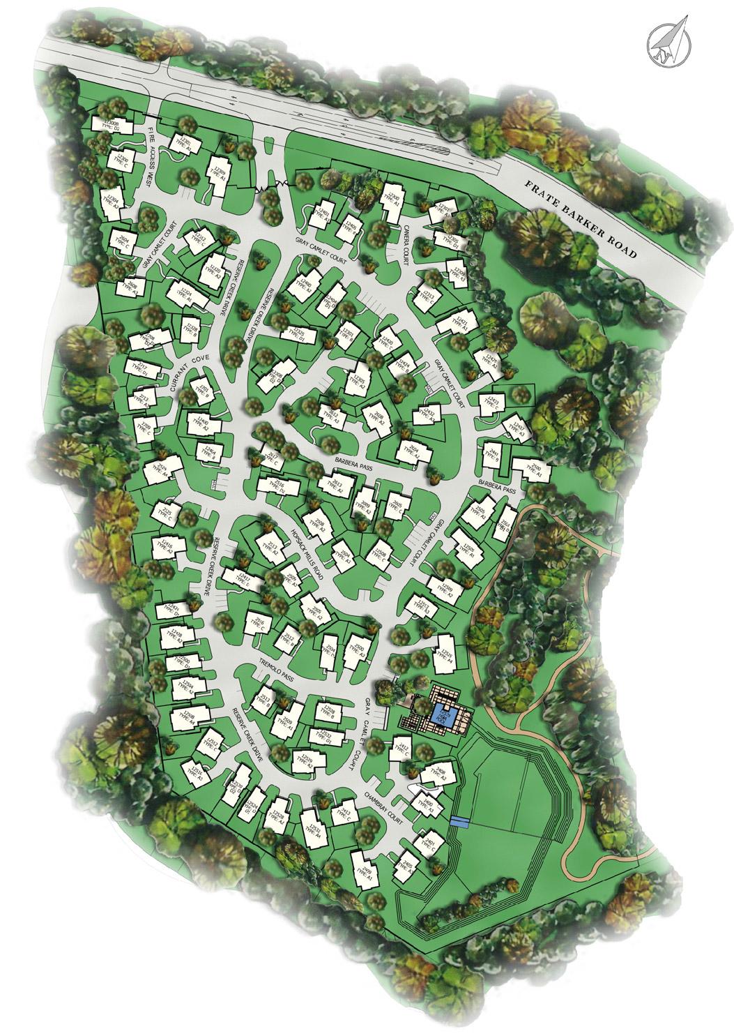 gabardine gardens site plan - Garden Homes In Austin Tx