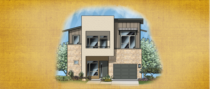 Modern contemporary new homes for sale austin tx berkeley for Modern houses for sale austin